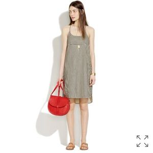 Madewell Cami Shift Dress in Ticking Stripe